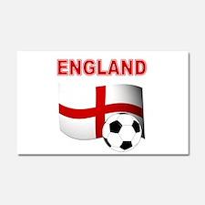 England Football Car Magnet 20 x 12