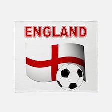 England Football Throw Blanket