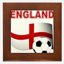 England Football Framed Tile