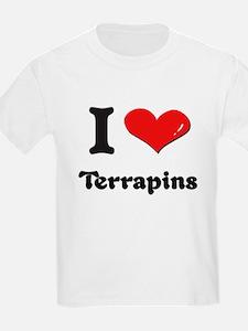 I love terrapins T-Shirt