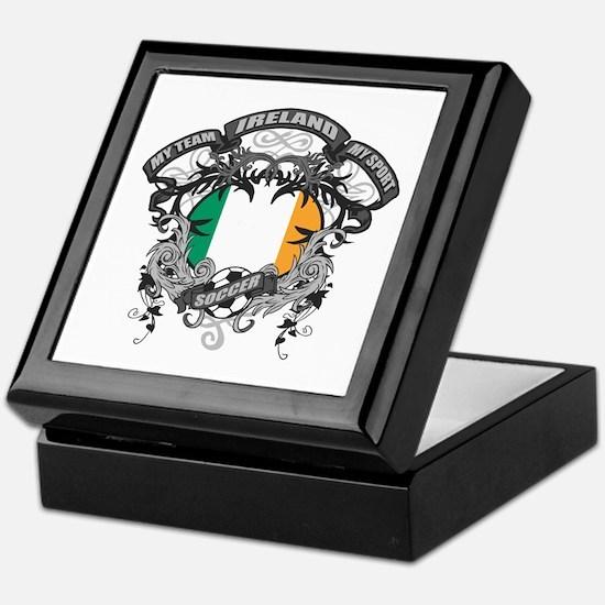 Ireland Soccer Keepsake Box