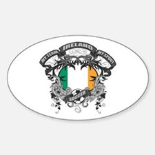 Ireland Soccer Decal