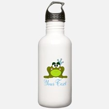 Personalizable Frog Prince Water Bottle