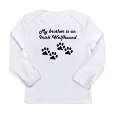 My Brother Is An Irish Wolfhound Long Sleeve T-Shi