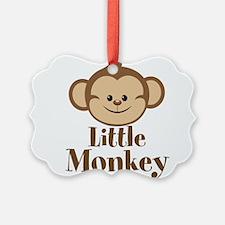 Cute Little Monkey Ornament
