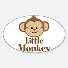 Cute Little Monkey Decal