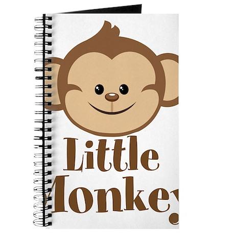 Cute Little Monkey Journal