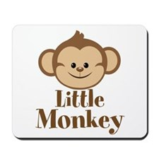 Cute Little Monkey Mousepad