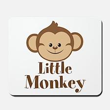 Cute Little Monkey Mousepad