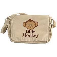 Cute Little Monkey Messenger Bag
