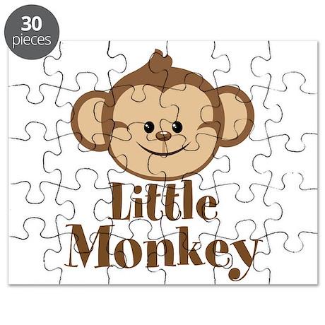 Cute Little Monkey Puzzle