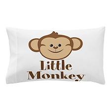 Cute Little Monkey Pillow Case