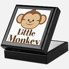 Cute Little Monkey Keepsake Box
