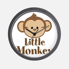 Cute Little Monkey Wall Clock