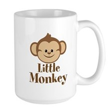 Cute Little Monkey Mugs
