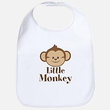 Cute Little Monkey Bib