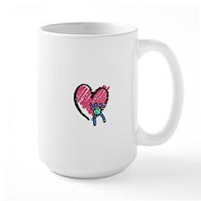 CdCS Heart Design Mugs