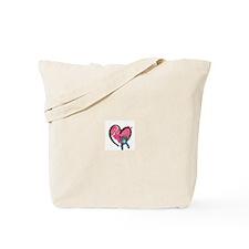 CdCS Heart Design Tote Bag
