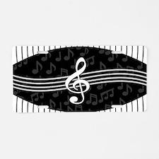 Stylish designer piano and music notes Aluminum Li