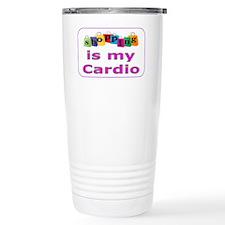 Shopping is my cardio Travel Mug