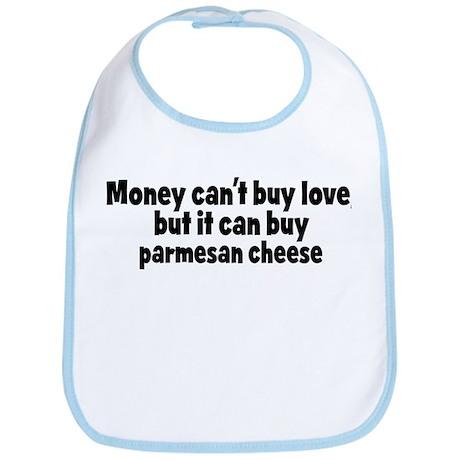 parmesan cheese (money) Bib