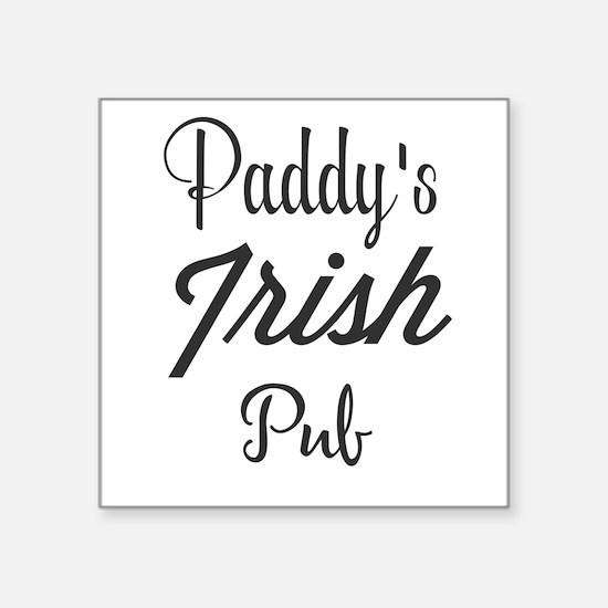 Paddy's Irish Pub Sticker