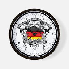 Germany Soccer Wall Clock