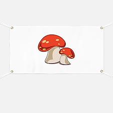 Mushrooms Banner