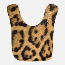Leopard fur Bib