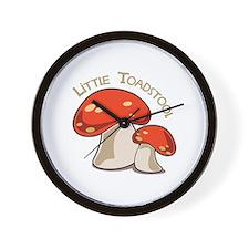 Little Toadstool Wall Clock