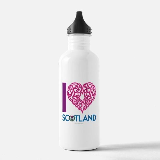 I Heart Sports Water Bottle