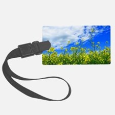 Canola Field Luggage Tag