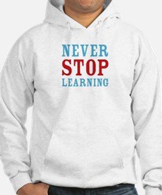 Never Stop Learning Jumper Hoody