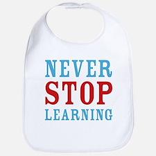 Never Stop Learning Bib