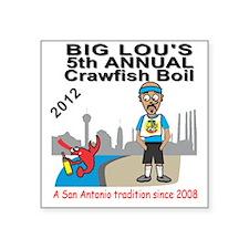 Crawfish Boil 2012 Sticker