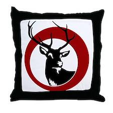 HIRSCH Throw Pillow