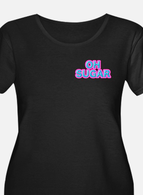 OH SUGAR Plus Size T-Shirt