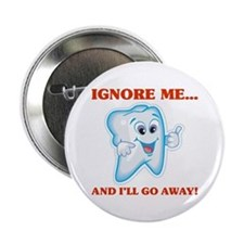 Cavities Dentist Button