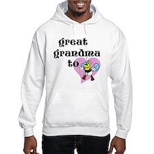 Heart Great Grandma To Bee Hoodie
