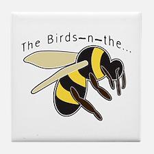 The Birds Tile Coaster