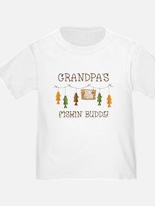 Gone Fishing Line Grandpa T