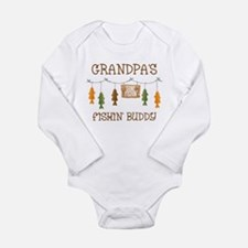 Gone Fishing Line Gran Baby Suit