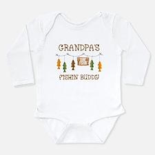 Gone Fishing Line Gran Long Sleeve Infant Bodysuit