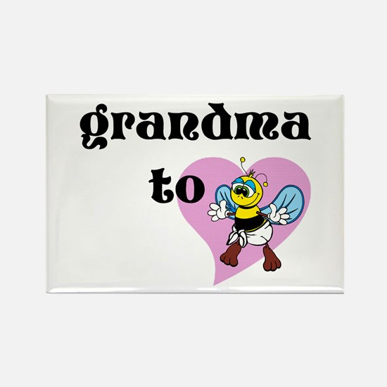 Heart Grandma To Bee Magnets