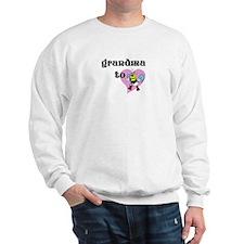 Heart Grandma To Bee Sweatshirt