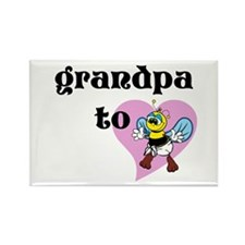 Heart Grandpa To Bee Magnets