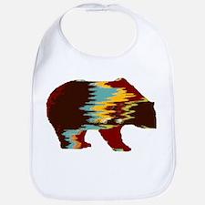 Artistic Rustic Bear Bib