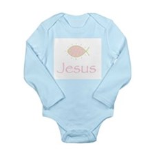 Joyful Christian Fish Symbol Body Suit