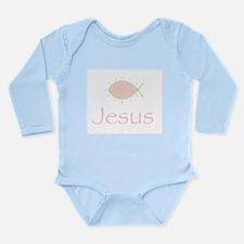 Joyful Christian Fish Symbol Body Suit