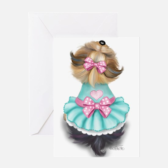 Miss pretty Greeting Cards